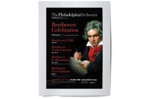Philadelphia Orchestra: Beethoven Celebration Bus Shelter
